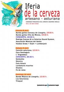 I Feria de la cerveza artesano-asturiana @ Pinacoteca Eduardo Úrculo | Langreo | Principado de Asturias | España
