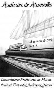 Audiciones de alumnos @ Conservatorio del Nalón | Langreo | Principado de Asturias | España