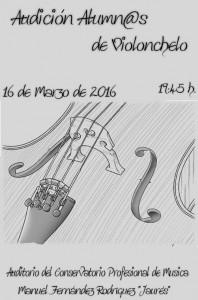 Audición de alumnos de violonchelo @ Conservatorio del Valle del Nalón | Langreo | Principado de Asturias | España