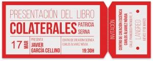 Presentación del libro: Colaterales @ Centro de Creación Escénica Carlos Álvarez Nóvoa | Langreo | Principado de Asturias | España