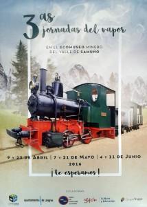 III Jornadas del Vapor @ Ecomuseo Minero del Valle del Samuño   El Cadaviu   Principado de Asturias   España