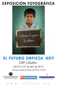 Exposición fotográfica: El futuro empieza hoy @ CIFP CISLAN | Langreo | Principado de Asturias | España
