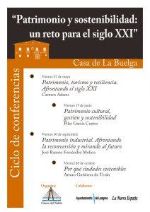 Ciclo de conferencias: Patrimonio y sostenibilidad @ Casa de la Buelga | Langreo | Principado de Asturias | España