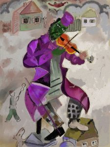 Exposición: Chagall, violinista de los colores @ Escuelas Dorado | Langreo | Principado de Asturias | España