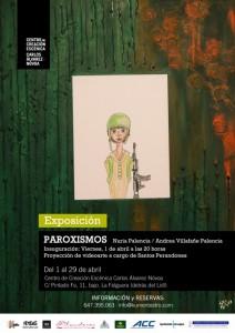 Exposición: Paroxismos @ Centro de Creación Escénica Carlos Álvarez-Nóvoa | Langreo | Principado de Asturias | España