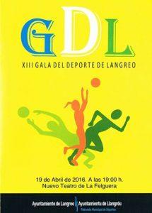 XIII Gala del deporte langreano @ Nuevo Teatro de La Felguera   Langreo   Principado de Asturias   España