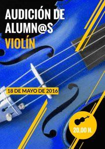 Audición de alumnos de violín @ Conservatorio Valle del Nalón | Langreo | Principado de Asturias | España
