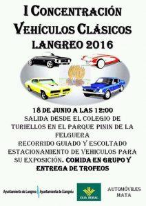 I Concentración de vehículos clásicos en Langreo - 2016 @ Parque Pinín | Langreo | Principado de Asturias | España