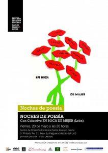Noches de poesía: En boca de mujer @ Centro Carlos Álvarez- Nóvoa | Langreo | Principado de Asturias | España