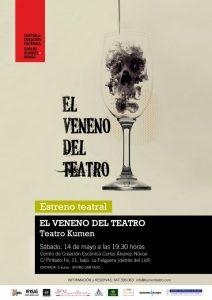 Teatro: El veneno del teatro @ Centro Carlos Álvarez-Nóvoa | Langreo | Principado de Asturias | España