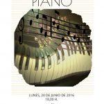 Audición de alumnos de piano