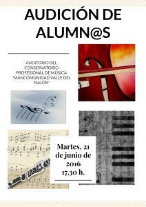 Audición de alumnos @ Conservatorio Valle del Nalón | Langreo | Principado de Asturias | España