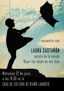 Encuentro con Laura Castañón @ Casa de Cultura de Riaño | Langreo | Principado de Asturias | España