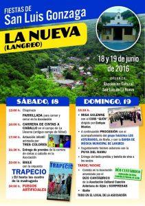 Fiestas de San Luis Gonzaga 2016 - La Nueva @ Locales Asociación San Luis | Langreo | Principado de Asturias | España