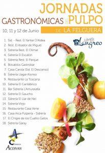 Jornadas del pulpo en La Felguera 2016 @ La Felguera | La Felguera | Principado de Asturias | España