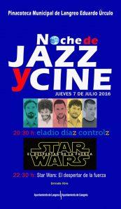 Noche de jazz y cine @ Jardines de la Pinacoteca Eduardo Úrculo | Langreo | Principado de Asturias | España