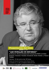 Presentación de libro: Las huellas de Sefarad @ Centro de creación escénica Carlos Álvarez-Nóvoa | Langreo | Principado de Asturias | España