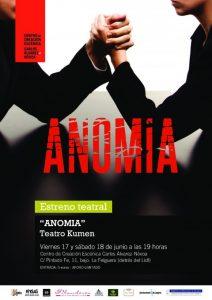 Teatro: Anomia @ Centro de Creación Escénica Carlos Álvarez-Nóvoa   Langreo   Principado de Asturias   España