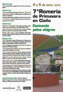 VII Romería de primavera en Ciaño @ Ciaño | Ciaño | Principado de Asturias | España