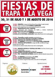 Fiestas de Trapa y La Vega 2016 @ Trapa | La Trapa | Principado de Asturias | España