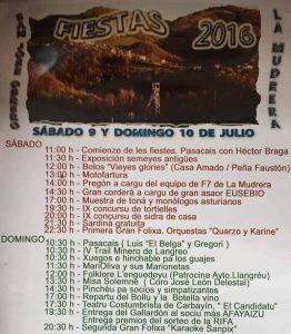 Fiestas de La Mudrera 2016 @ La Mudrera | La Mudrera | Principado de Asturias | España