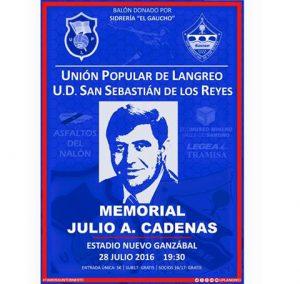 Fútbol: Memorial Julio A. Cadenas @ Estadio Ganzábal | Langreo | Principado de Asturias | España