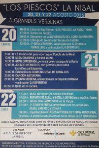 Fiesta de La Nisal 2016 - Los Piescos @ La Nisal | Lada | Principado de Asturias | España