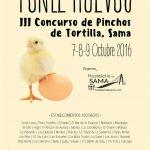 III Concurso de pinchos de tortilla en Sama