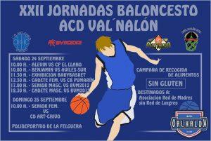 XXII Jornadas de Baloncesto ACD Valnalón @ Polideportivo de La Felguera | Langreo | Principado de Asturias | España