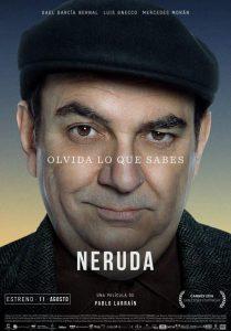 Cine: Neruda @ Nuevo Teatro de La Felguera | Langreo | Principado de Asturias | España
