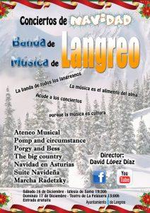 Concierto de Navidad 2017. Banda de música de Langreo @ Iglesia de Sama | Langreo | Principado de Asturias | España