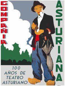 Exposición: 100 años de teatro asturiano @ Escuelas Dorado | Langreo | Principado de Asturias | España