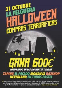Halloween, compras terroríficas @ La Felguera | Langreo | Principado de Asturias | España