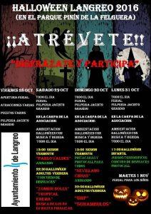 Fiesta de Halloween en Langreo 2016 @ Parque Pinín | Langreo | Principado de Asturias | España