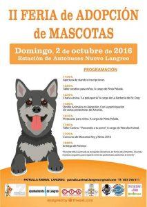 II Feria de adopción de mascotas @ Estación de autobuses | Langreo | Principado de Asturias | España