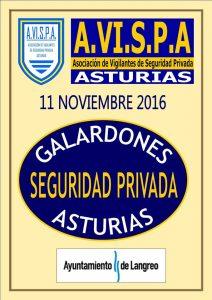 IV Gala entrega de galardones seguridad privada de Asturias 2016 @ Casa de Cultura Alberto Vega | Langreo | Principado de Asturias | España