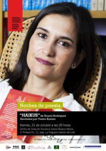 Noches de poesía: Noemí Rodríguez @ Centro de creación escéncia Carlos Álvarez-Nóvoa | Langreo | Principado de Asturias | España