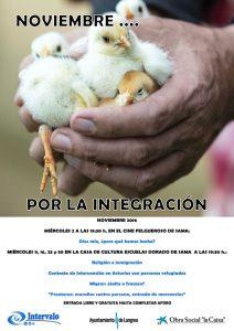 Noviembre por la integración 2016 @ Cine Felgueroso y Escuelas Dorado | Sama | Principado de Asturias | España