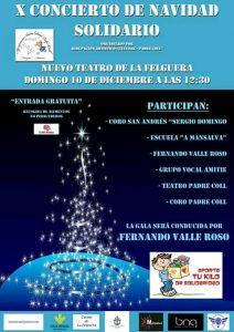 Concierto de Navidad 2017. Coro Padre Coll. @ Nuevo Teatro de La Felguera | Langreo | Principado de Asturias | España