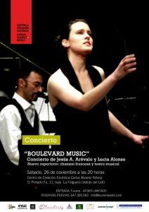 Concierto: Boulevard Music @ Centro de creación escénica Carlos Álvarez-Nóvoa | Langreo | Principado de Asturias | España