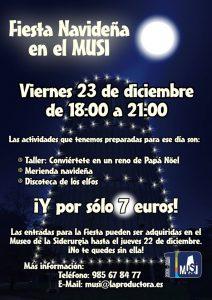 Fiesta navideña en el MUSI @ MUSI | Langreo | Principado de Asturias | España