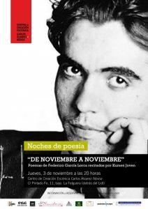 Noches de poesía: De noviembre a noviembre @ Centro de Creación Escénica Carlos Álvarez-Nóvoa | Langreo | Principado de Asturias | España