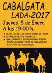 Cabalgata de Reyes 2017 en Lada