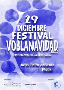 Concieto: Voblanavidad @ Nuevo Teatro de La Felguera | Langreo | Principado de Asturias | España