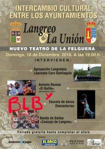 Intercambio cultural ayuntamientos de Langreo - La Unión @ Nuevo Teatro de La Felguera | Langreo | Principado de Asturias | España