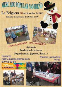 Mercado popular navideño @ Estación de Autobuses de Langreo | Langreo | Principado de Asturias | España