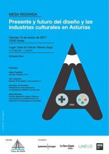 Mesa redonda: Presente y futuro del diseño y las industrias creativas en Asturias @ Casa de Cultura de La Felguera | Langreo | Principado de Asturias | España