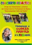 Concierto didáctico Homenaje a Gloria Fuertes