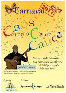 Carnaval de Cauce 2017 @ Casa de Cultura de La Felguera | Langreo | Principado de Asturias | España