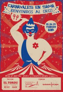 Bienvenidos al circo - Carnaval y menú d'antroxu en Sama de Langreo 2017 @ Sama | Sama | Principado de Asturias | España